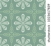 simple modern pattern with... | Shutterstock .eps vector #1023617839
