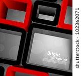 bright grey tech background... | Shutterstock .eps vector #102362071