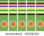 korean abstract flower pattern... | Shutterstock . vector #10236265