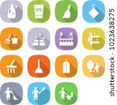 flat vector icon set   cleanser ... | Shutterstock .eps vector #1023638275