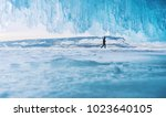winter landscape  snow on the... | Shutterstock . vector #1023640105