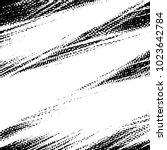 grunge halftone black and white ...   Shutterstock .eps vector #1023642784
