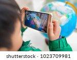 zhongshan china february 7 ... | Shutterstock . vector #1023709981
