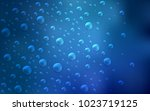 light blue vector texture with... | Shutterstock .eps vector #1023719125