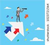 find great opportunities to... | Shutterstock .eps vector #1023721564