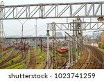 saint petersburg  russia  ... | Shutterstock . vector #1023741259
