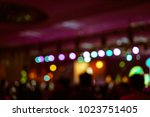 defocused entertainment concert ... | Shutterstock . vector #1023751405