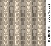 seamless pattern with springs... | Shutterstock .eps vector #1023767281