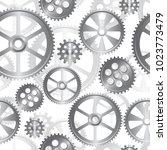 abstract mechanical background  ... | Shutterstock .eps vector #1023773479