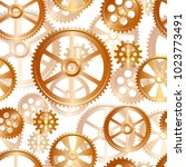 abstract mechanical background  ... | Shutterstock .eps vector #1023773491