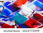 painted abstract background | Shutterstock . vector #1023773599