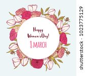 international womens day. 8... | Shutterstock .eps vector #1023775129