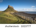 Stock photo the holy island of lindisfarne 1023777