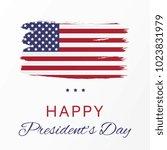 president's day banner template.... | Shutterstock .eps vector #1023831979