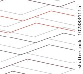 linear pattern mesh  straight ... | Shutterstock .eps vector #1023834115