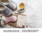 five minute journal | Shutterstock . vector #1023843697