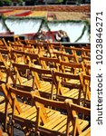 chairs for rent and tribunes in ... | Shutterstock . vector #1023846271