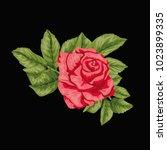 flowers. vector illustration | Shutterstock .eps vector #1023899335