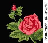 flowers. vector illustration | Shutterstock .eps vector #1023899341