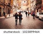 january 10  2018 in czech... | Shutterstock . vector #1023899464