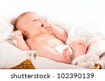 portrait close up of a young... | Shutterstock . vector #102390139