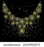 abstract beautiful applique... | Shutterstock .eps vector #1023902071