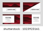 abstract vector layout... | Shutterstock .eps vector #1023923161