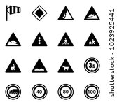 solid vector icon set   side...   Shutterstock .eps vector #1023925441