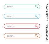 search browser icon logo vector ... | Shutterstock .eps vector #1023952999