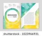 abstract vector layout... | Shutterstock .eps vector #1023966931
