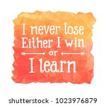 inspire motivation quote on an... | Shutterstock .eps vector #1023976879