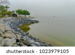 view of the eastern shore of... | Shutterstock . vector #1023979105