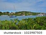 saint paul parish   antigua and ... | Shutterstock . vector #1023987505