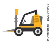 mini loader icon  flat style | Shutterstock .eps vector #1023994939