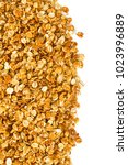 granola isolated on white | Shutterstock . vector #1023996889