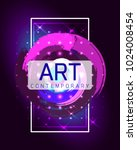 vector frame for text.... | Shutterstock .eps vector #1024008454