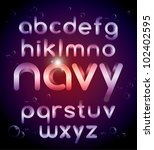 vector of stylish alphabet | Shutterstock .eps vector #102402595