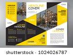 business brochure. flyer design.... | Shutterstock .eps vector #1024026787