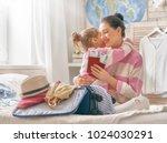 go on an adventure  happy... | Shutterstock . vector #1024030291
