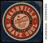 vintage varsity graphics and... | Shutterstock .eps vector #1024041541