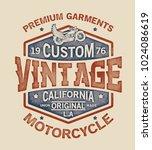 grunge effected vector design... | Shutterstock .eps vector #1024086619