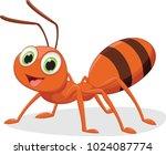 illustration of happy ant... | Shutterstock . vector #1024087774