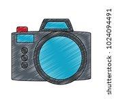 vintage photographic camera   Shutterstock .eps vector #1024094491