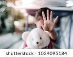 stop sexual harassment against...   Shutterstock . vector #1024095184