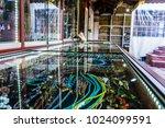 beads  gift souvenir shop. | Shutterstock . vector #1024099591