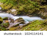 mountain river radovna in the... | Shutterstock . vector #1024114141