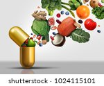 Vitamins Supplements As A...