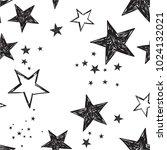 black and white seamless... | Shutterstock .eps vector #1024132021
