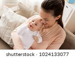 family  motherhood and people... | Shutterstock . vector #1024133077