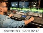 music  technology and equipment ... | Shutterstock . vector #1024135417